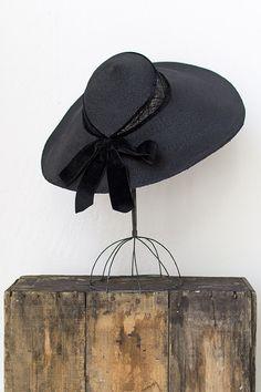 vintage 1940s hat   40s hat