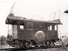Early electric locomotive