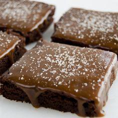 Mimi's Cookie Bar - Gluten Free Salted Caramel Brownies, $25.00 (http://www.mimiscookiebar.com/gluten-free-salted-caramel-brownies/)