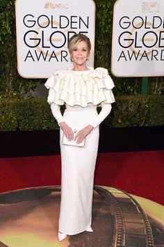 73rd Annual Golden Globes Red Carpet Pictures