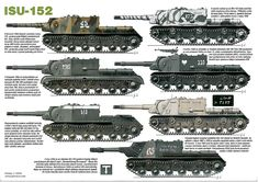 foto van Soviet Tanks of WW Isu 152, Military Paint, Tank Armor, Camouflage Colors, War Thunder, Model Tanks, Armored Fighting Vehicle, Ww2 Tanks, World Of Tanks