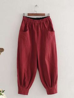 Linen Pants Women, Pants For Women, Clothes For Women, Simple Kurta Designs, Plaid Shirt Outfits, Plus Sise, Designs For Dresses, Pants Pattern, Stylish Dresses