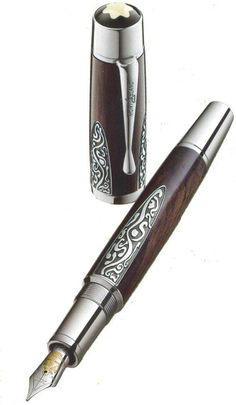 Pen lust....Mont Blanc Alexander von Humboldt fountain pen. $3300