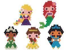 Amazon   アクアビーズ ディズニープリンセスキャラクターセット   おもちゃ   おもちゃ