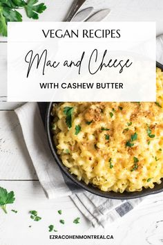 This surprisingly delicious mac and cheese recipe, made with Ezra Cohen Montreal cashew butter, is perfect for vegans, vegetarians, and foofies alike! To try it yourself, follow the recipe on our website. Let us know what you think! Delicious Mac And Cheese Recipe, Vegan Mac And Cheese, Cheese Recipes, Vegan Recipes, Cashew Butter, Butter Recipe, Vegan Parmesan, Drying Pasta, Different Recipes