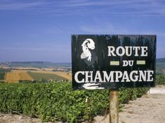Champagne - France: seems like a great route to follow