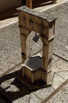 Old Town Well - Spoleto, Umbria, Italy, province of Perugia