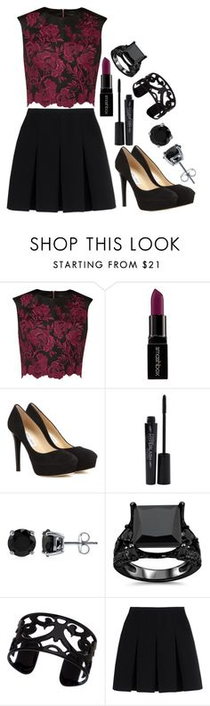 """""""MiNi SkirT"""" by sassysarafina ❤ liked on Polyvore featuring Ted Baker, Smashbox, Jimmy Choo, BERRICLE, Lisa August and Alexander Wang"""