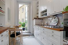 Image about white in home + house + design ! Kitchen Pantry, Kitchen Cabinets, Scandinavian Design, My Dream Home, Small Spaces, Sweet Home, Home And Garden, House Design, Interior Design