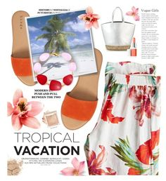 """Nropical"" by susli4ek ❤ liked on Polyvore featuring Calypso St. Barth, Hinge and Clinique"