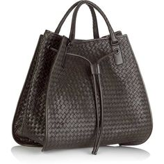 The signature of Bottega Veneta is the  handicrafted woven characteristics which make the Bottega Veneta bag or clutch recognizable throughout the world.