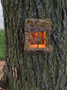 Lighted Fairy Window by EssentialWhimsy on Etsy