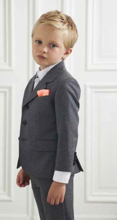 Marie Chantal winter 2012 super slick boys tailoring