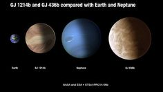 У планеты вырос огромный газовый хвост, как у кометы