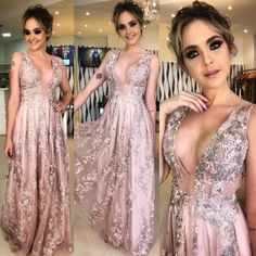 Purchase Fashion Women's Summer Sexy Sleeveless Splicing V-Neck Embroidery Party Dress from Huazada on OpenSky. Share and compare all Apparel. Women's Summer Fashion, Party Fashion, Gala Dresses, Formal Dresses, Fairytale Gown, Dress Up, Bridesmaid Dresses, Wedding Dresses, Dream Dress