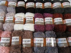 Very soft and furry yarn, perfect for special occasion knits or detail - accessory pieces.Weight Bulky (7 wpi) ?Meterage 82 yards(75 meters)Unit weight 50 grams (1.76 ounces)Gauge 12.0 sts = 4 inchesNeedle size US 10 - or 6 - 7mmHook size 6.5 mm (K)Fibers100% Manufactured Fibers - Nylon / PolyamideTexture soft, furry Crochet Hook Sizes, Crochet Hooks, Needles Sizes, Special Occasion, Fiber, Knitting, Knits, Turkey, Colours