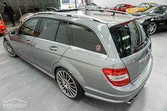 Mercedes Benz W204 C63 wagon