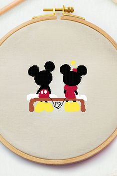 Excited to share this item from my #etsy shop: Mikki Mouse in love cross stitch chart Disney x stitch Nursery counted cross stitch Minni embroidery design Baby room decor DIY pdf #crossstitchpattern #easycrossstitchpattern #moderncrossstitchpattern #crossstitchpatternforbeginner #simplecrossstitchpattern #freecrossstitchpattern #modernembroideryscheme #crossstitchscheme #crossstitchchart #crossstitchtext #crossstitchquote #embroiderylove #embroiderymikki #crossstitchlove #babycrossstitch… Dragon Cross Stitch, Small Cross Stitch, Cute Cross Stitch, Disney Cross Stitch Patterns, Modern Cross Stitch Patterns, Counted Cross Stitch Patterns, Diy Embroidery Patterns, Cute Embroidery, Cross Stitch Quotes