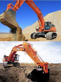 Doosan's newest DX490LC and DX530 #Excavators http://machinesequipment.wordpress.com/2014/06/17/doosans-newest-dx490lc-and-dx530-excavators/