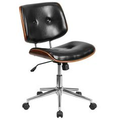 Carter Leather Desk Chair