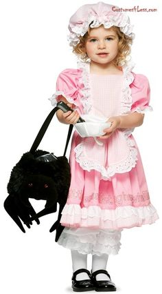 Little Miss Muffet Toddler Costume at Costumes4Less.com