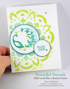 DOstamperSTARS Thursday Challenge #266: Embossing Paste & Beautiful Peacock