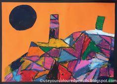 A few years back I did a collage project with year 1 students based on Paul Klee's 1928 painting ' The Castle and the Sun' . You can see...
