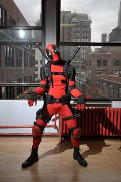 Character: Deadpool (Wade Wilson) / From: MARVEL Comics 'Deadpool' & 'X-Force' / Cosplayer: Daniel Von Black / Photo: Ron Gejon Photography Deadpool Cosplay, Superhero Cosplay, Superhero Villains, Art Costumes, Cool Costumes, Deadpool Pictures, Great Sci Fi Movies, Madison Style, Best Cosplay Ever