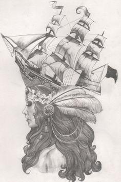 Marie Antoinette tattoo inspiration