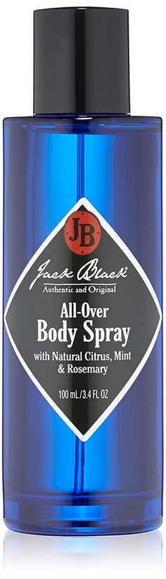Jack Black All-Over Body Eau de Toilette Spray, 3.4  fl.oz. *** This is an Amazon Affiliate link. Details can be found by clicking on the image.