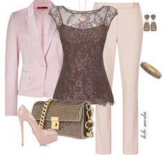 LOLO Moda classic fashion love the top! Diva Fashion, Office Fashion, Work Fashion, Fashion Looks, Fashion Outfits, Womens Fashion, Fashion Trends, Classic Fashion, Fashion 2014