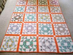 Dear Edna: Single Wedding Ring Quilt | Quilts - lover's knot and ... : single wedding ring quilt - Adamdwight.com