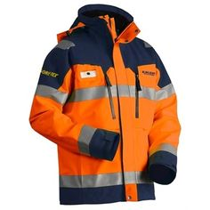 Blaklader Gore-Tex hi vis Shell jacket, ideal for those blustery, cold conditions!