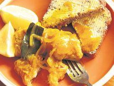 Vir heerlike ingelegde vis benodig 'n mens vis met 'n stewige tekstuur, soos geelstert of snoek. Kabeljou is ook nommerpas.