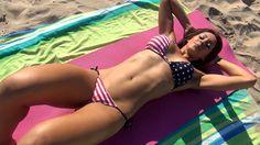 15 Minute Intense Sexy Bikini ABS WORKOUT!! TRY IT!!