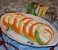 Bonduelle România: E o ruladă aperitiv foarte ușor de pregătit și cu care eu am impresionat musafirii în ziua de Crăciun. Finger Food Appetizers, Finger Foods, Appetizer Recipes, Romanian Food, Easy Snacks, Fresh Rolls, Sushi, Good Food, Food And Drink