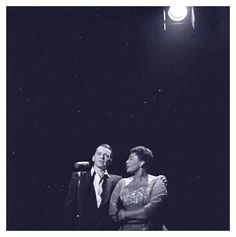 Frank Sinatra & Ella Fitzgerald duet on The Frank Sinatra Show.