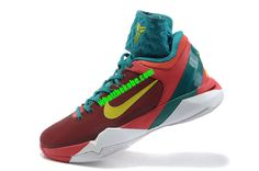 Nike Zoom Kobe VII Year of the Dragon Action Red Electrolime Team Red Lush Teal 488369 600