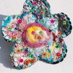 flower brooch | by tamsyng