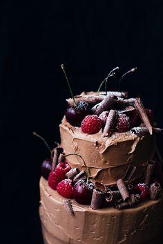 choc berry cake yumm