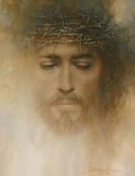 Jesus.  Crown of thorns