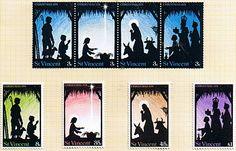 St Vincent 1974 Christmas Set Fine Mint SG 354/7 Scott 346/9 Other St Vincent Stamps HERE