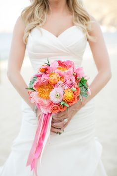 When you cross a sun-kissed Cabo affair with the happy, pink palette, you're in for something really, really good. Think bright, peppy blooms and perfectly styled details all sweetly captured by missSara Richardson. It's the perfect way to start your Friday, and you can find lots, lots more waiting right here! From the Bride… Scott […]