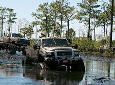 2 bad its a ford, but its covered in MUD!! what can I say