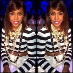 Kelly Rowland xfactor love her! Black Is Beautiful, Beautiful People, Kelly Rowland Style, Sew In Hairstyles, Girls Run The World, 2014 Fashion Trends, Wig Styles, Woman Crush, Black Girls