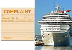 Crazy complaints made by cruise passengers. #funny #humor #cruise