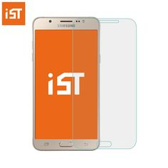IST Premium 2.5D Tempered Glass For Samsung Galaxy J1 J3 J5 J7 J8 J120 J310 J510 J710 2016 AAAAA Screen Protector Film * Klik gambar untuk melihat detail