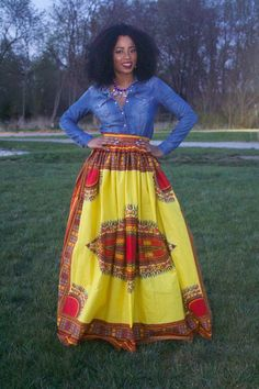 Vintage Dashiki Maxi Dress-Ethnic by on Etsy African Print Dresses, African Wear, African Attire, African Dress, African Style, African Theme, African Prints, African Inspired Fashion, Africa Fashion