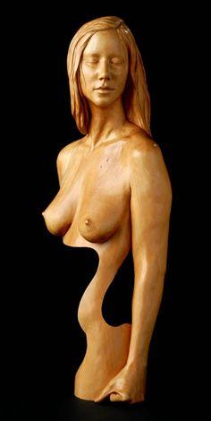 Chad Awalt - sculpture in wood