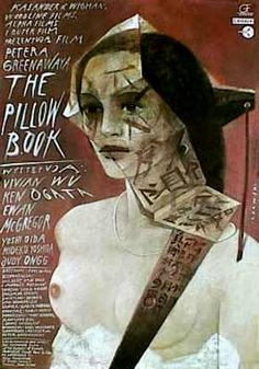 A beautiful piece of art in motion: The Pillow Book.